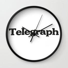 Telegraph Wall Clock