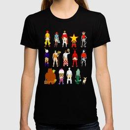 Fast Food Butts V2 T-shirt