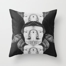 Homme au turban rouge — Flemish Division Throw Pillow
