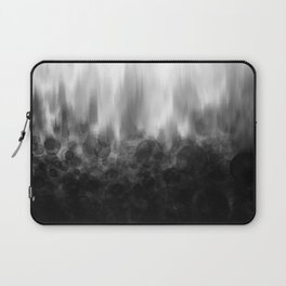 B&W Spotted Blur Laptop Sleeve