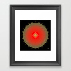 Fleuron Composition No. 141 Framed Art Print