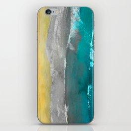 Watercolour Summer beach II iPhone Skin