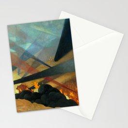 Verdun by Félix Vallotton - Colorful Les Nabis Art Stationery Cards