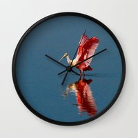 ballerina Wall Clocks featuring Ballerina by Lark Ascending