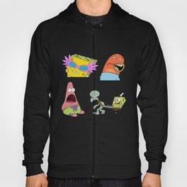 spongebob stiker pack Hoody
