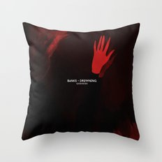 BANKS - Drowning Throw Pillow