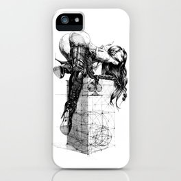 Over knees iPhone Case