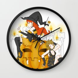 Halloween Wall Clock