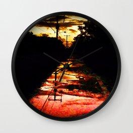 Sherbet Road Wall Clock
