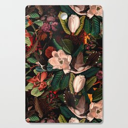 FLORAL AND BIRDS XIV Cutting Board