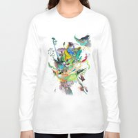 archan nair Long Sleeve T-shirts featuring Numb by Archan Nair