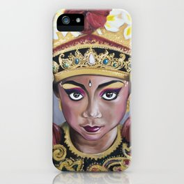 Bali Dancer iPhone Case