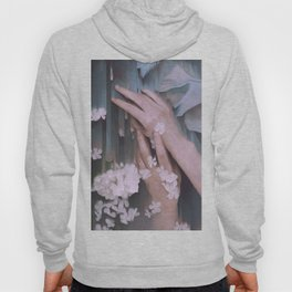 arms, glitch, flowers Hoody