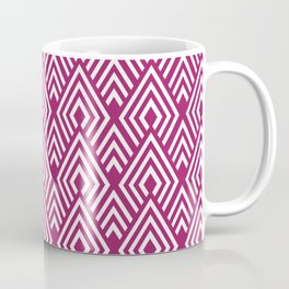 Marsala Diamond Pattern Coffee Mug