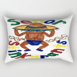 Senor Stinkypants Rectangular Pillow