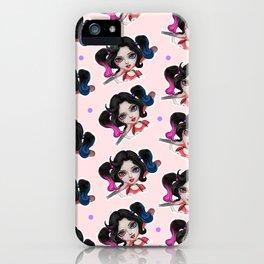 Kiddo harley quinn 3 iPhone Case