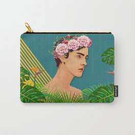 BOY OVER FLOWERS Carry-All Pouch