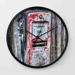 Gas Dispenser Wall Clock
