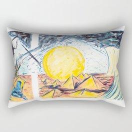 X voYages de Zed (toile 9 - série 1) Rectangular Pillow