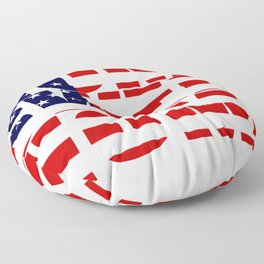 Home Sweet Home (America) Floor Pillow