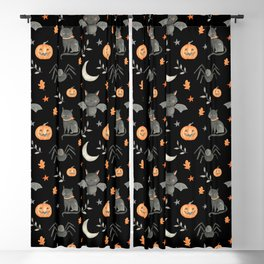 HALLOWEEN PARTY Blackout Curtain