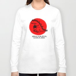 Godzilla Fun Fact Long Sleeve T-shirt