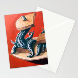 Tentacles On Toast Stationery Cards