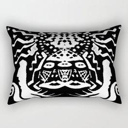 painting  remix art brut Rectangular Pillow