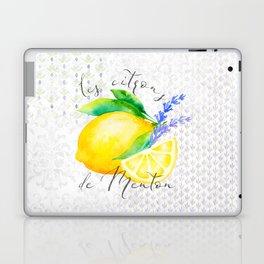 Les Citrons de Menton—Lemons from Menton, Côte d'Azur Laptop & iPad Skin