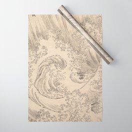 Wave by Katsushika Hokusai 1760–1849, Japanese Wrapping Paper