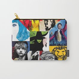 Musicals Collage Carry-All Pouch