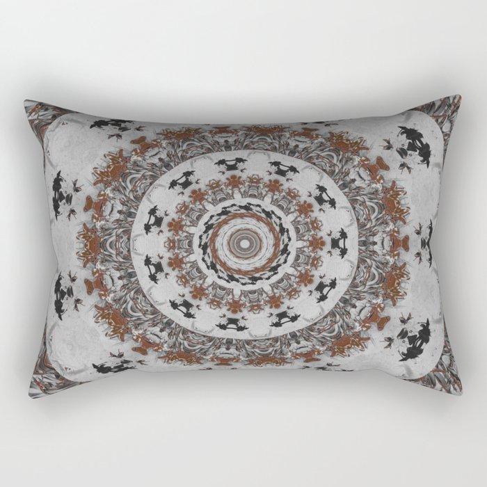 Stone Ridge Kaleidoscope Rectangular Pillow