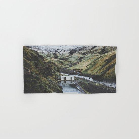 Seljavallalaug, Iceland Hand & Bath Towel