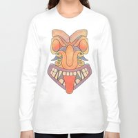 totem Long Sleeve T-shirts featuring Totem by Jesse McLean