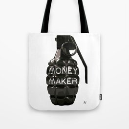 Money Maker Granade Tote Bag