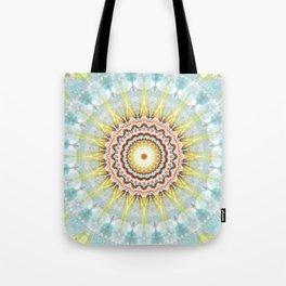 Mandala wintersun Tote Bag