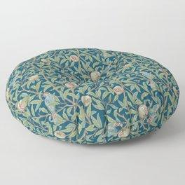 Birds and Pomegranates - William Morris Floor Pillow