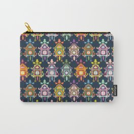 Colorful Cuckoo Clocks Carry-All Pouch