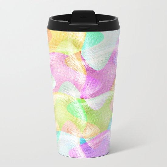 Pastels Having Fun Metal Travel Mug