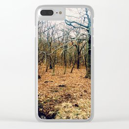 Forever forest Clear iPhone Case
