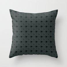 Gloomy Garden Throw Pillow