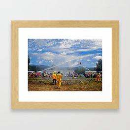 Chama Days Framed Art Print