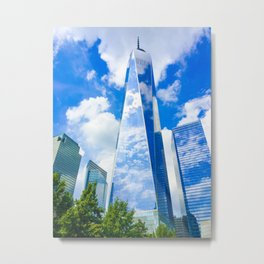 The Freedom Tower in Manhattan, NY Metal Print