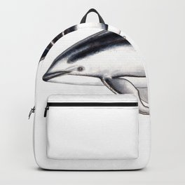 Pacific white-sided dolphin Backpack