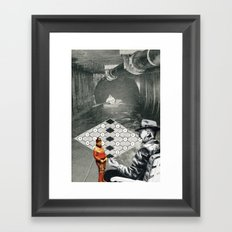 Loves Past And The One That Got Away Framed Art Print