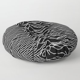 Joy Division - Unknown Pleasures Floor Pillow
