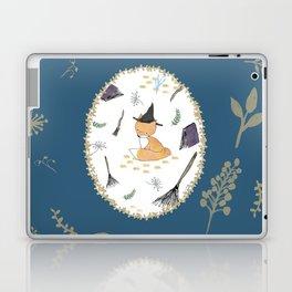 Blue Magical Fox Laptop & iPad Skin