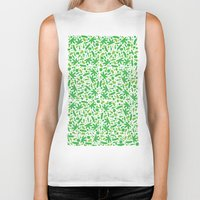 vegetable Biker Tanks featuring Vegetable salad by Tony Vazquez