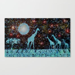 Height of the Stars Canvas Print