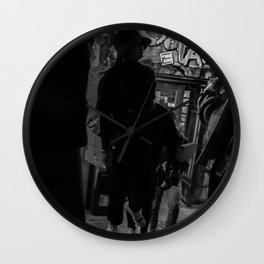 People on a Night Event, B Wall Clock